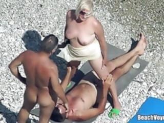 beach mature hidden camera