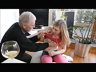 blonde teen old & young