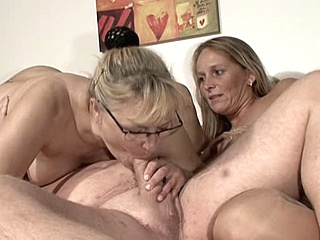 blonde group sex mature